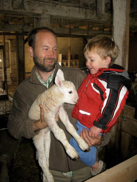 Me Graham and Lamb