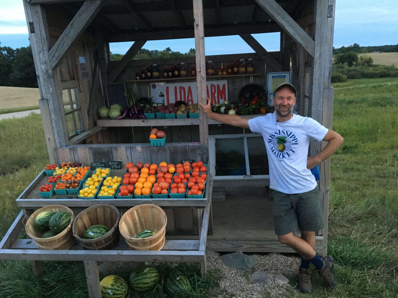 Me at Farm Stand 2